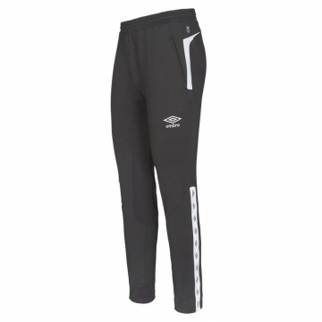 UMBRO UX Elite Pant Slim Sort/Hvit - Barn