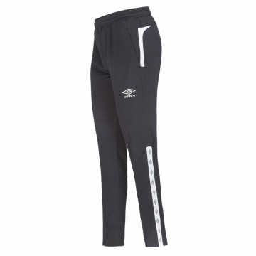 UMBRO UX Elite Pant Reg  Sort/Hvit - Barn
