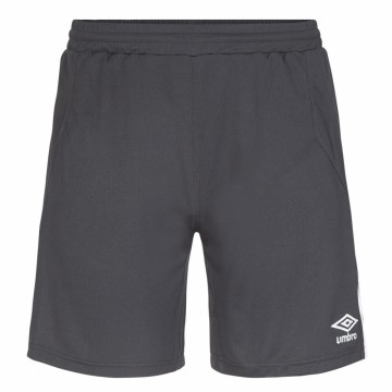 UMBRO UX Elite Shorts  Sort/Hvit - Barn