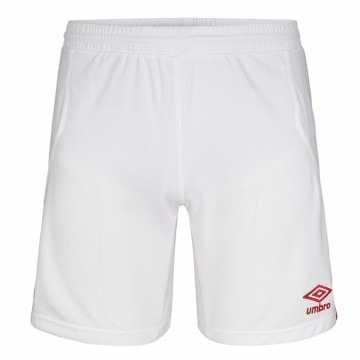 UMBRO UX Elite Shorts Hvit/Rød - Barn